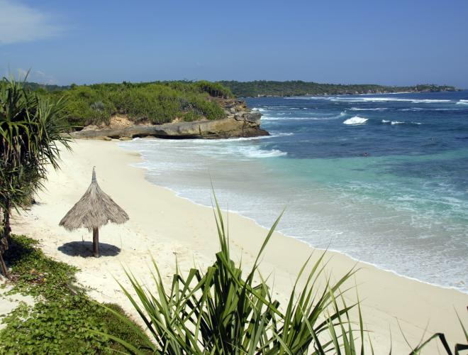 VILLA BAHAGIA IS A SHORT STROLL FROM DREAM BEACH